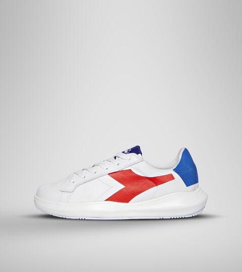 Zapatilla deportiva - Unisex MASS DAMPER DERBY WHITE/RED - Diadora