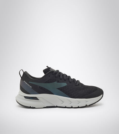 Running shoe - Women MYTHOS BLUSHIELD VOLO HIP W BLACK/SILVER - Diadora