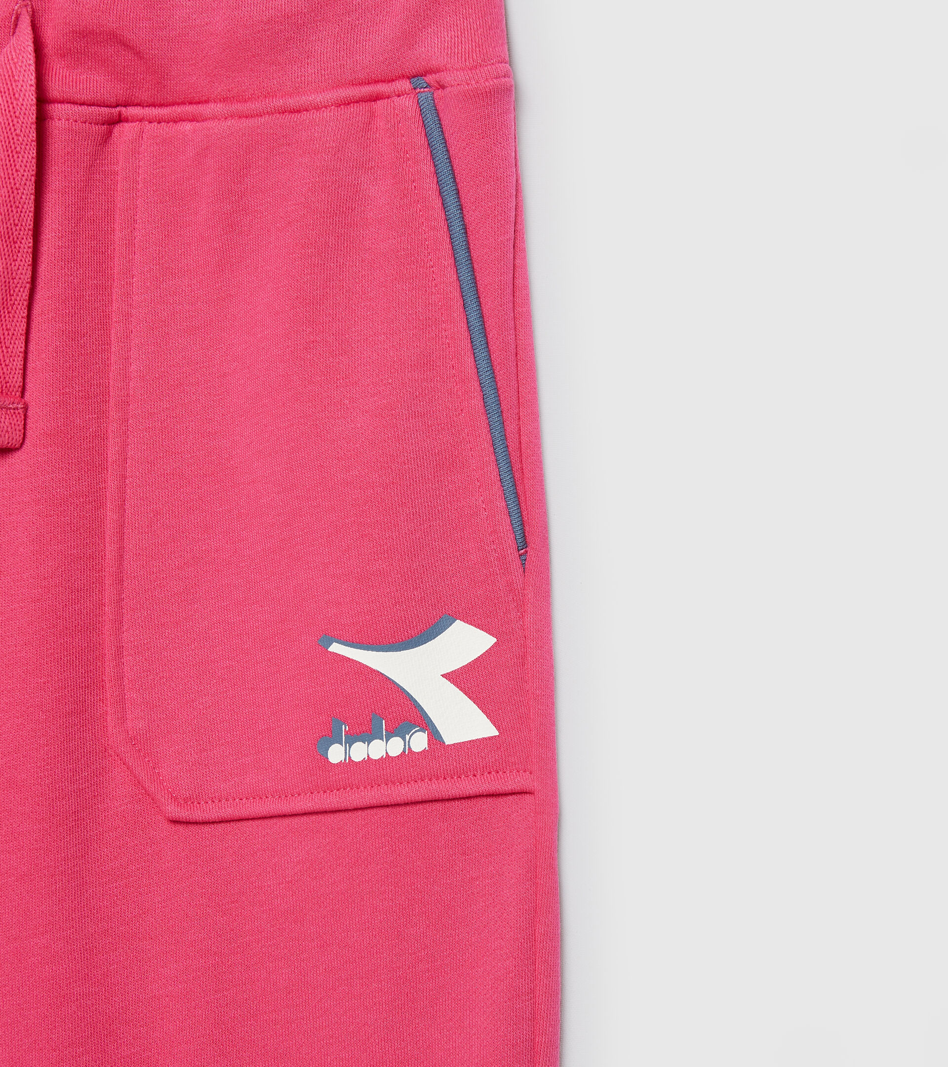 Sporthose - Kinder JU. CUFF PANTS CUBIC MAGENTAROT - Diadora