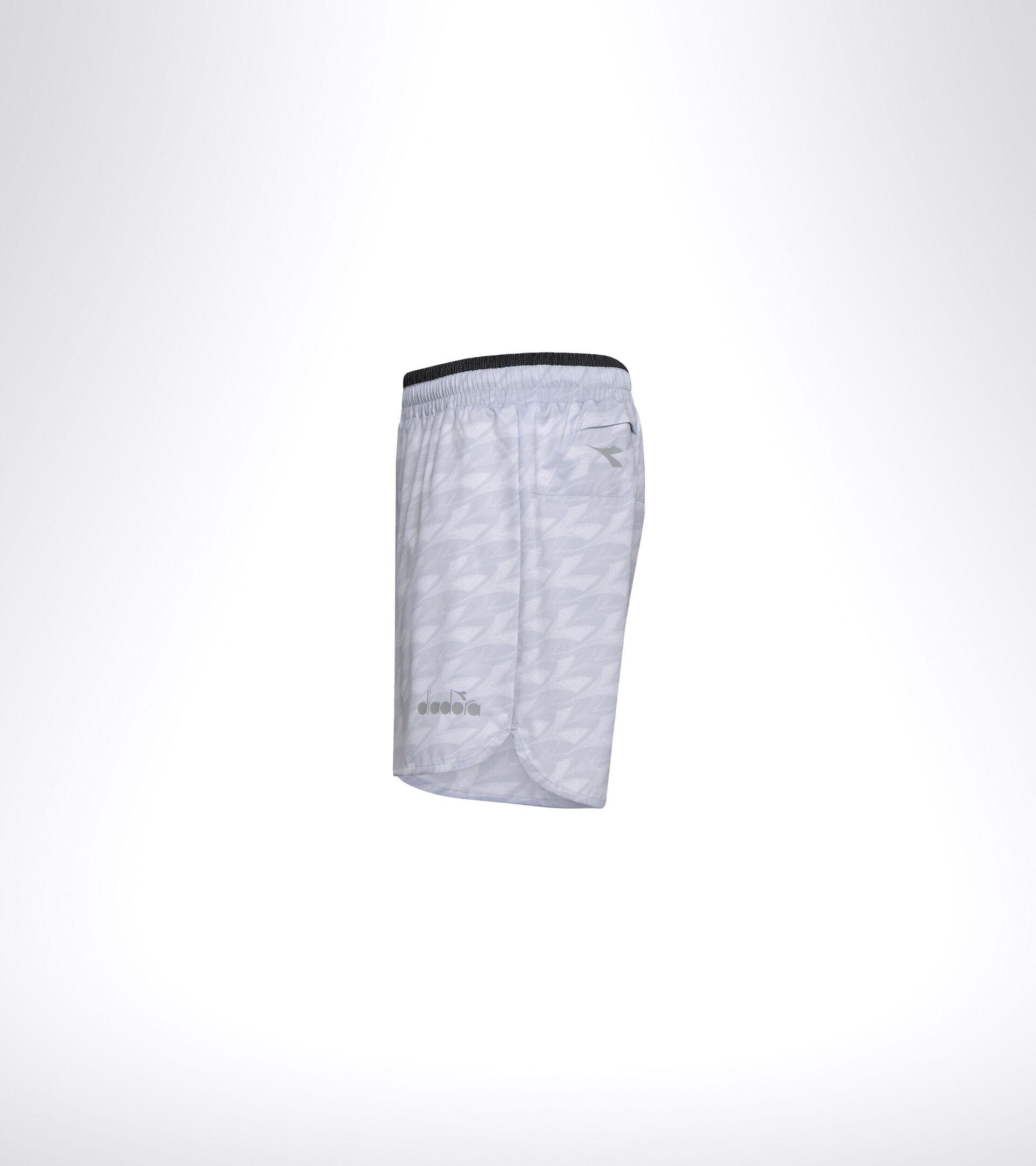 Apparel Sport UOMO MICROFIBER SHORTS 12,5 CM ALL OVER OYSTER MUSHROOM Diadora