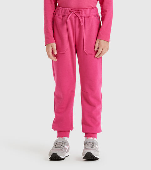 Pantalon de sport - Enfants JU. CUFF PANTS CUBIC MAGENTA - Diadora