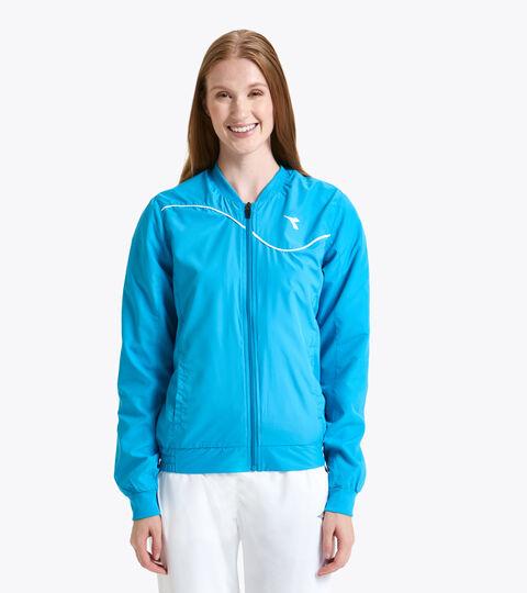 Tennis jacket - Women L. JACKET COURT ROYAL FLUO - Diadora