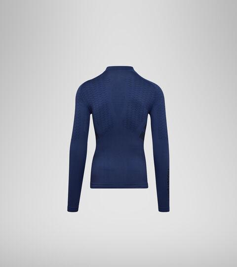 T-shirt d'entraînement à manches longues - Homme LS TURTLE NECK ACT BLEU INFINI - Diadora