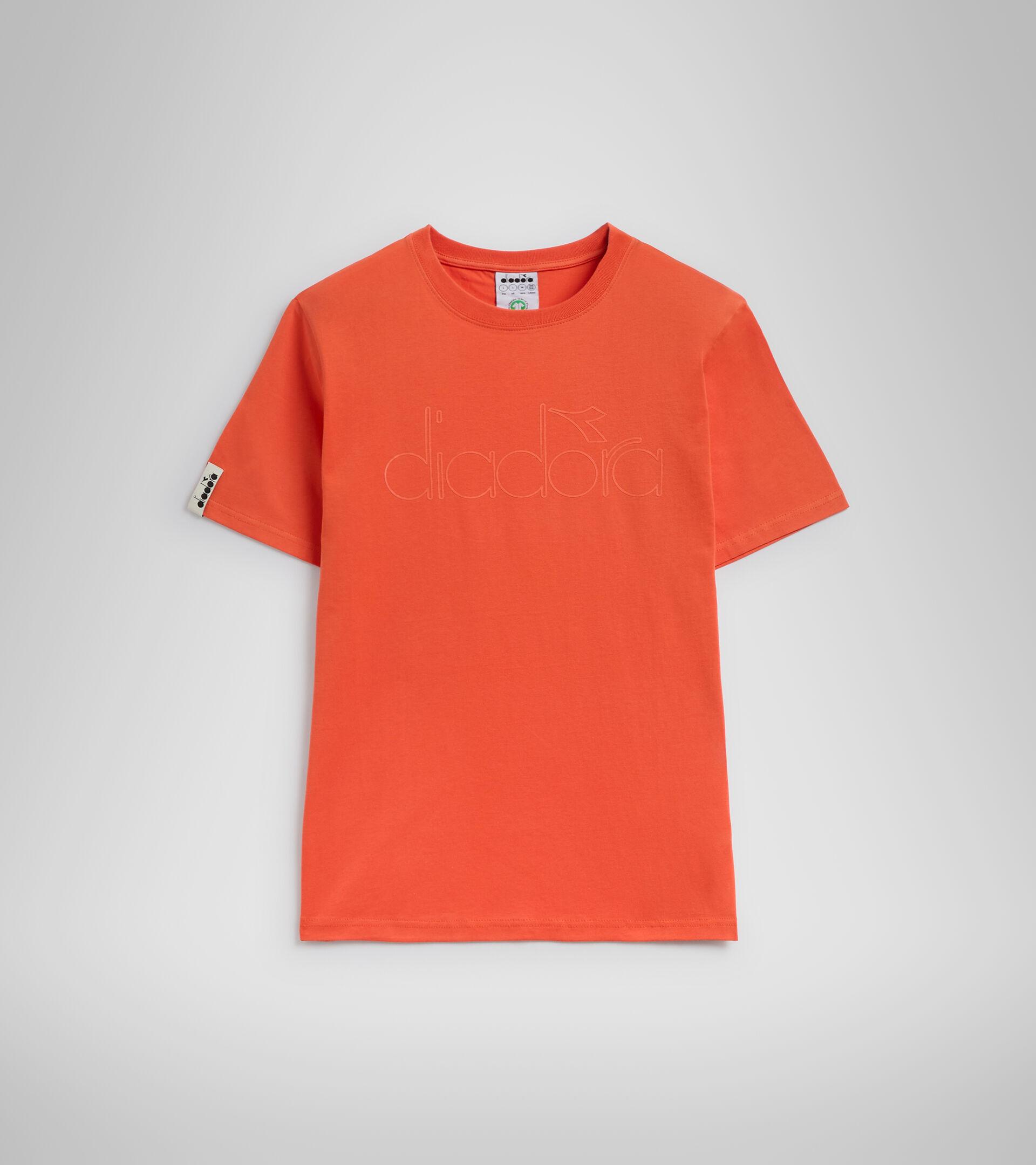 Camiseta - Unisex T-SHIRT SS DIADORA HD ROJO LIRIO ATIGRADO - Diadora