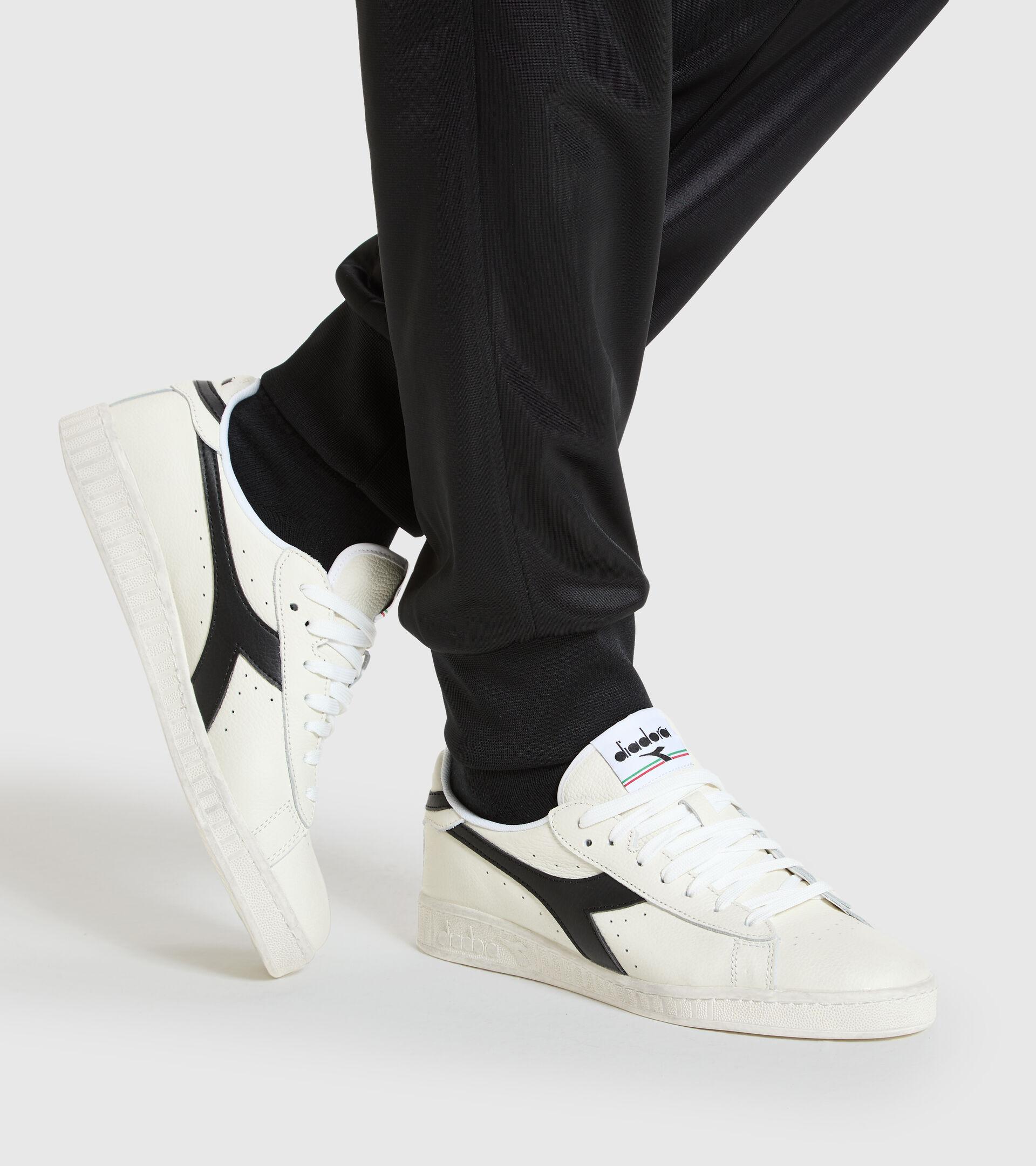 Trainer - Unisex GAME L LOW WAXED WHITE/BLACK - Diadora