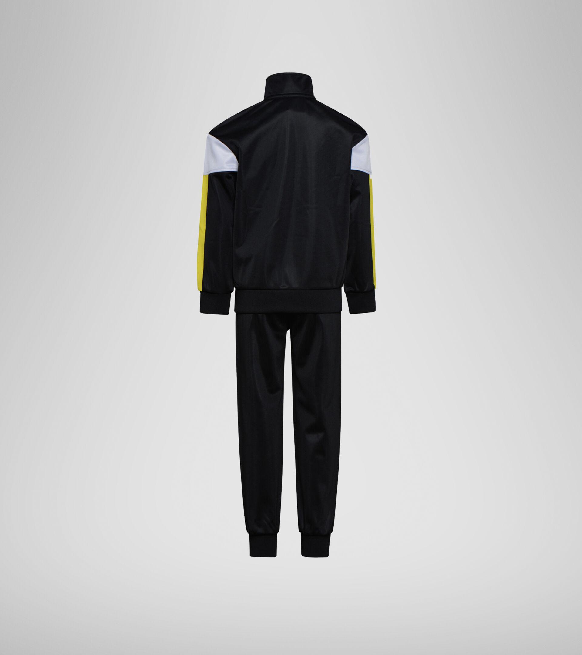 Trainingsanzug - Jungs JB. TRACKSUIT FZ DIADORA CLUB SCHWARZ - Diadora