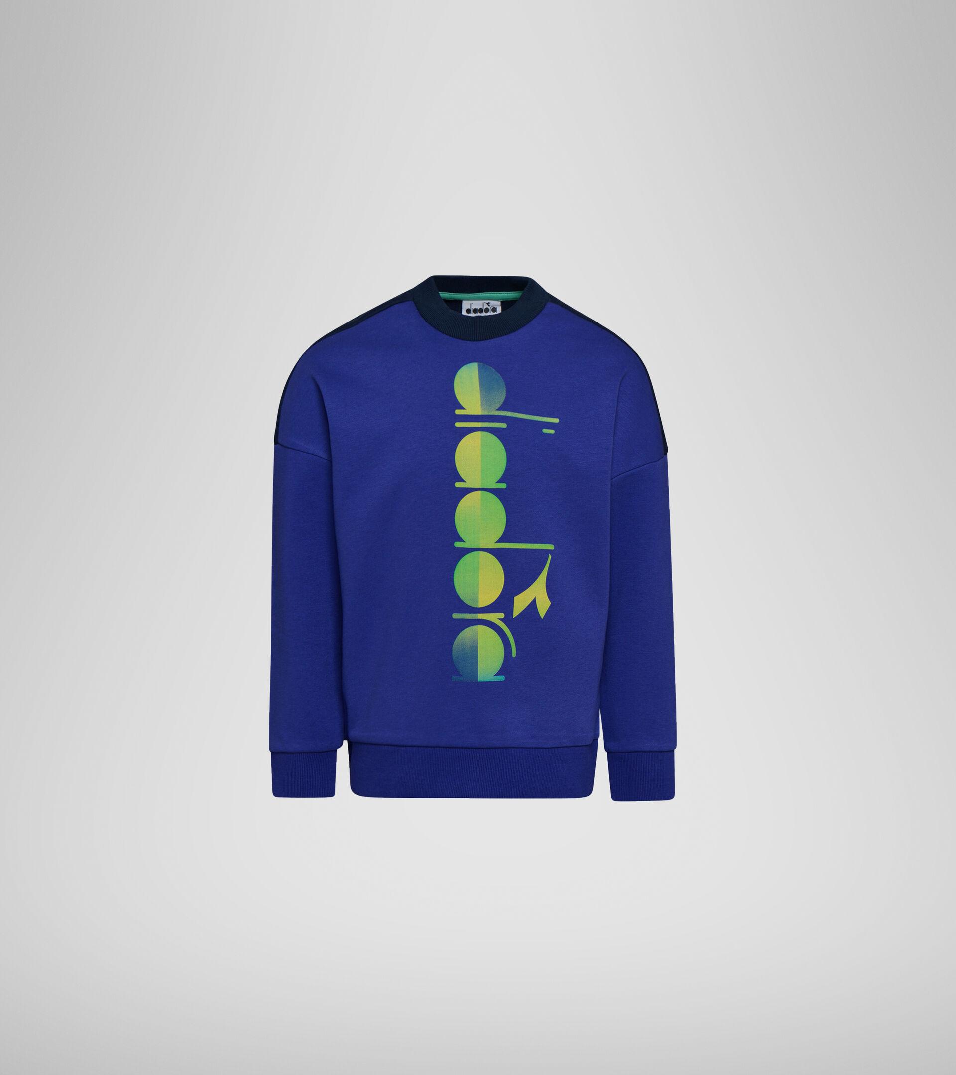 Sweater mit Rundhalsausschnitt - Jungs JB.SWEATSHIRT CREW DIADORA CLUB KLEMATISBLAU - Diadora