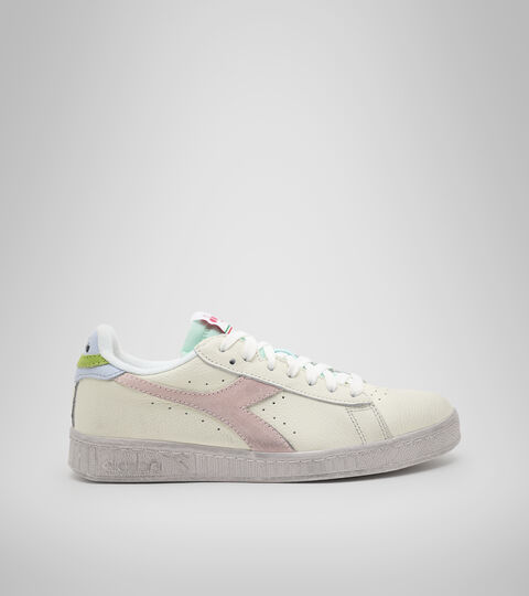 Footwear Sportswear DONNA GAME L LOW ICONA WN ORCHID TINT/HALOGEN BL/POTPOUR Diadora
