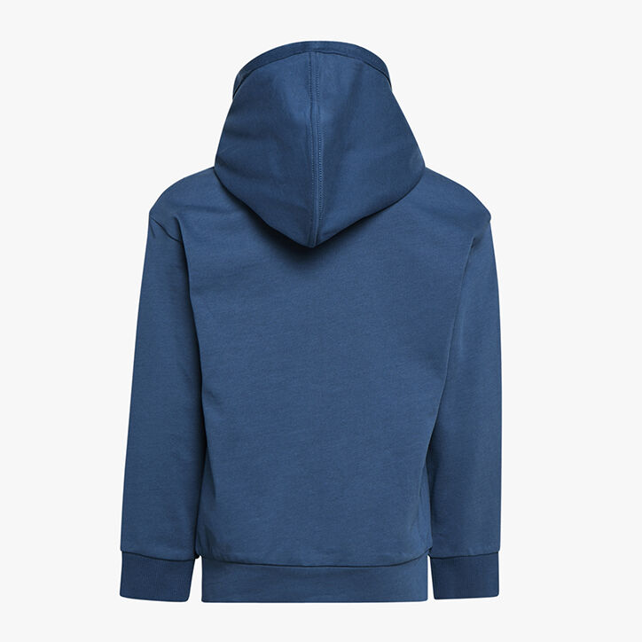 JU. HOODIE FZ ELEMENTS, BLEU INSIGNES, large