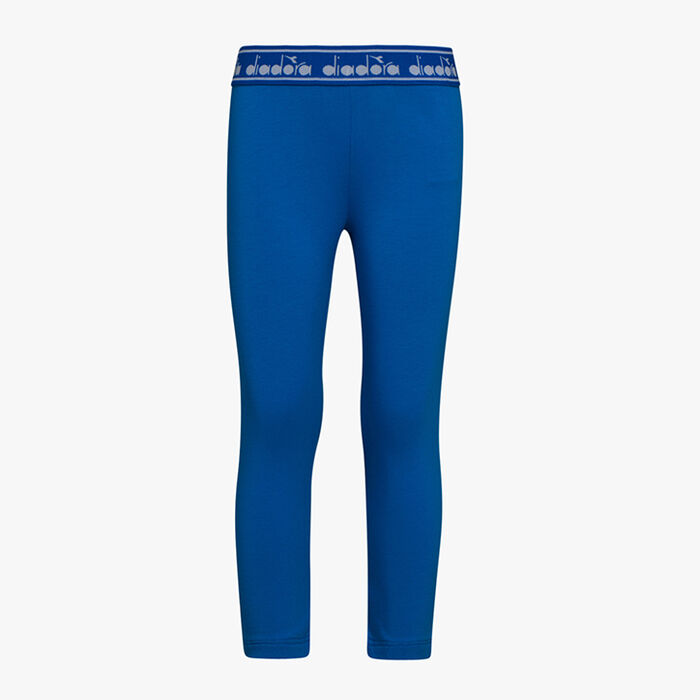 JG. LEGGINGS LOGO MANIA, MIKROBLAU, large