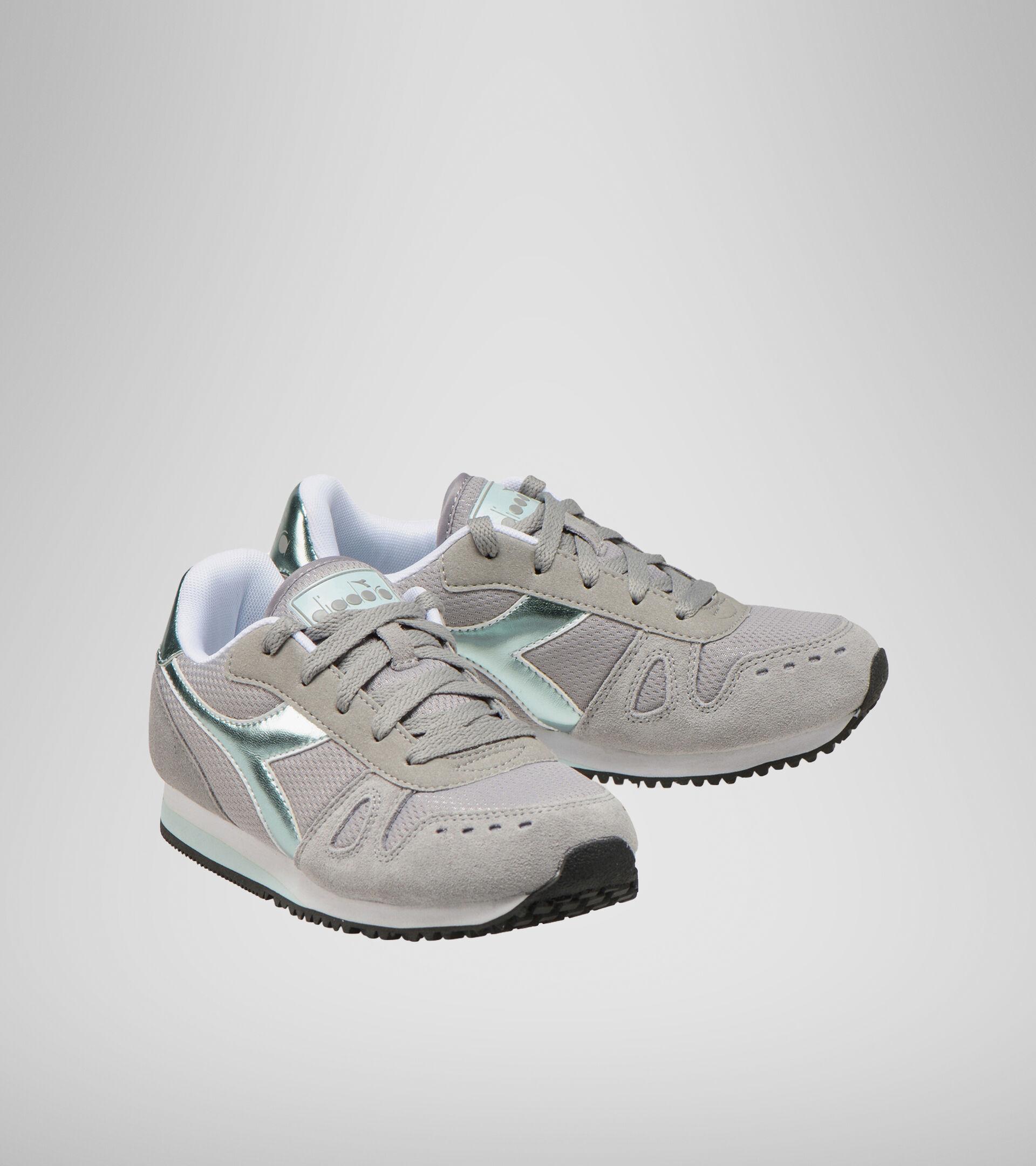 Footwear Sport BAMBINO SIMPLE RUN GS GIRL PALOMA GREY Diadora