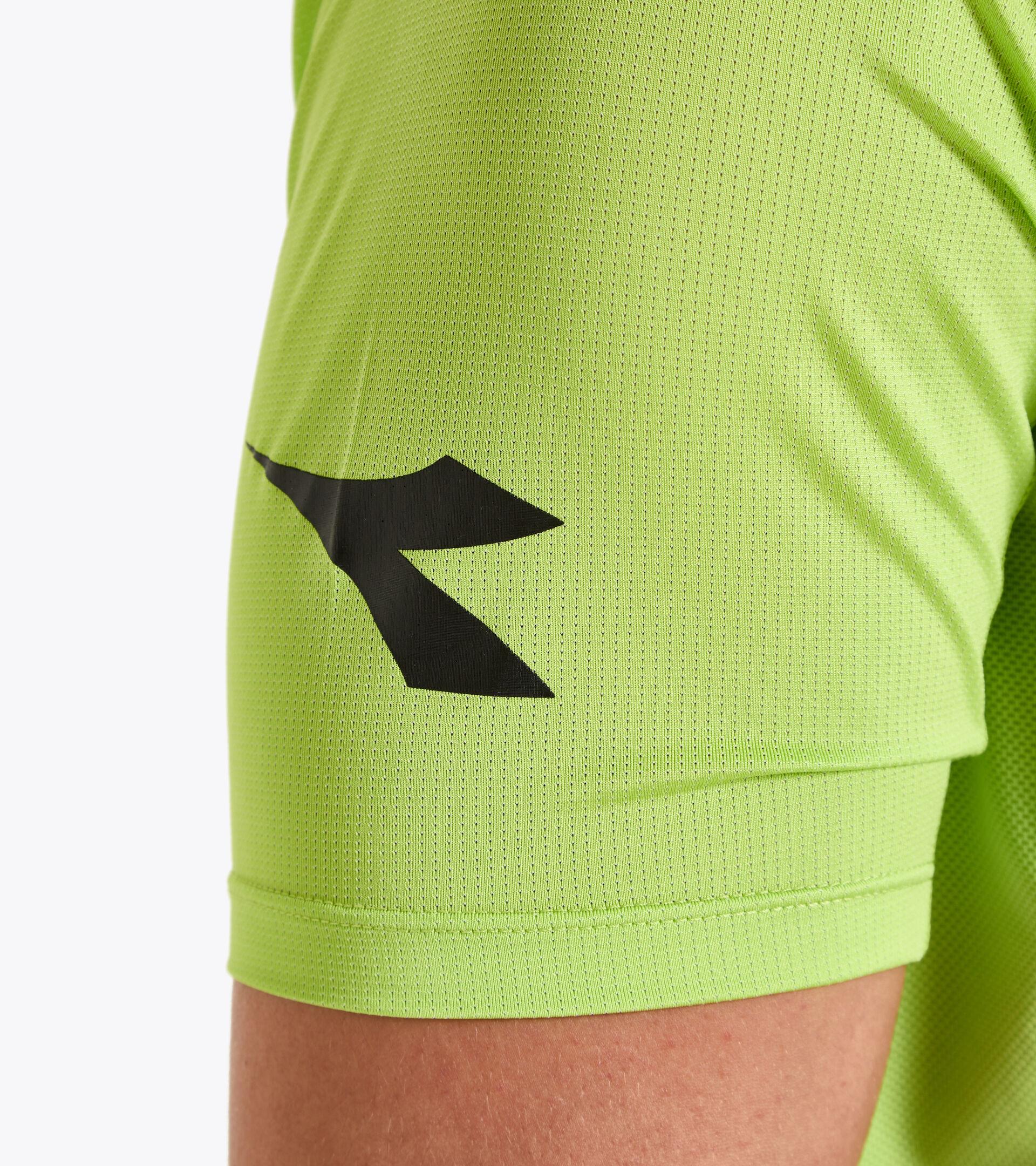Workout-T-Shirt für Herren SS SUPER LIGHT T-SHIRT BUDDYFIT LINDE GRUN - Diadora