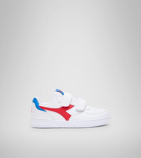 Footwear Sport BAMBINO RAPTOR LOW PS BIANCO/TOMATO RED Diadora