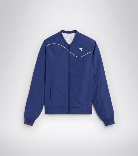 Tennis jacket - Women L. JACKET COURT SALTIRE NAVY - Diadora