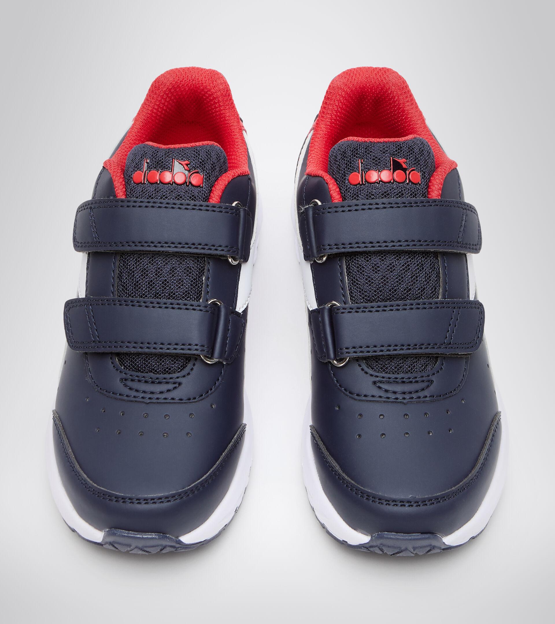 Footwear Sport BAMBINO FALCON SL JR V BLU ESTATE/ROSSO CARMINE Diadora