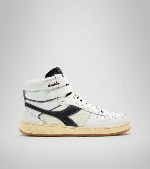 Chaussures de sport - Unisexe MAGIC BASKET MID ICONA BLANC/NOIR (C0351). - Diadora