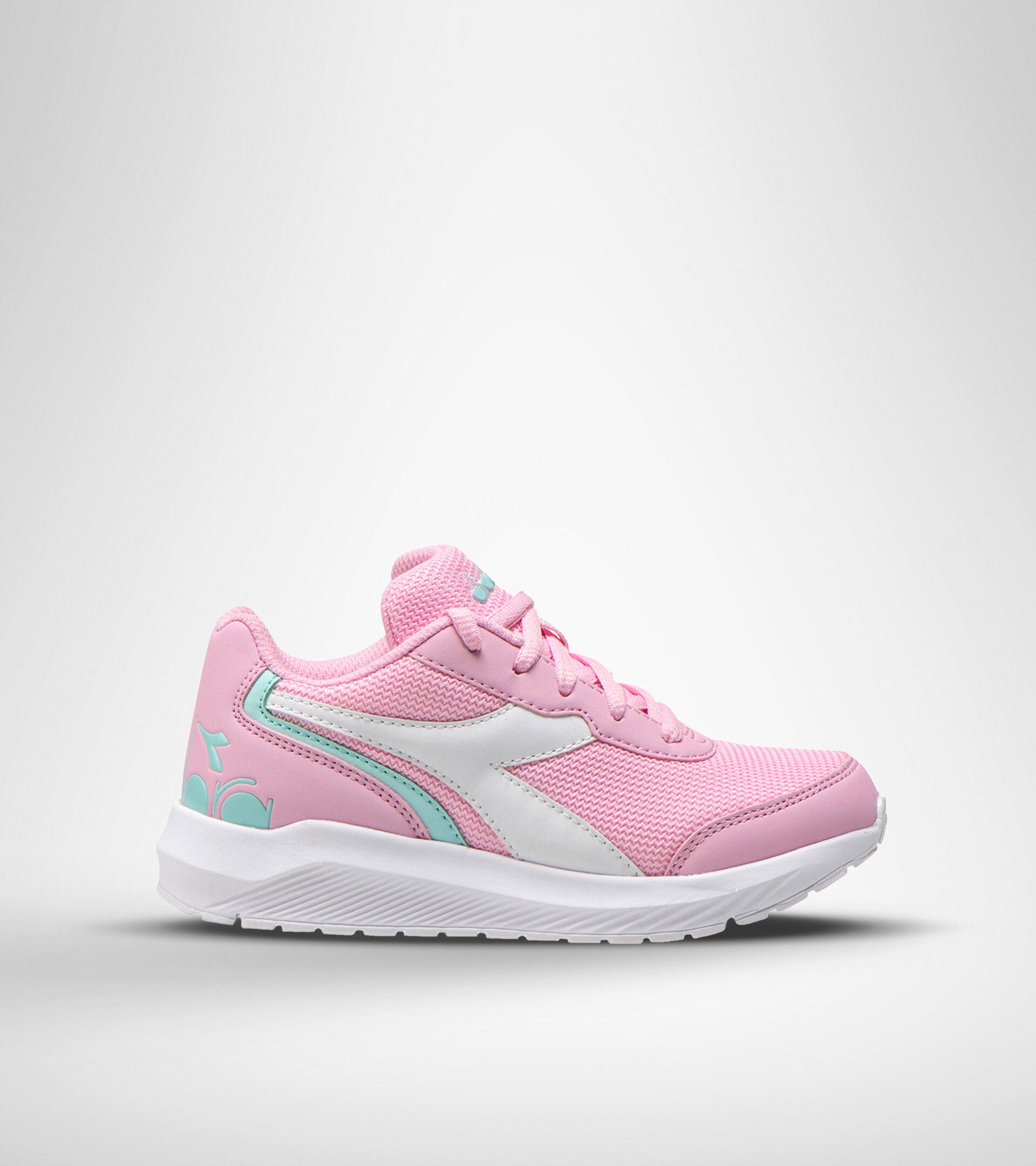 Chaussures de running - Unisexe Enfant FALCON JR ROSA LADY/BIANCO - Diadora