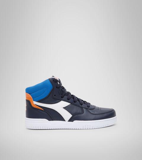 Footwear Sport BAMBINO RAPTOR MID GS BLU CORSARO/BIANCO Diadora