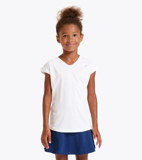 T-shirt de tennis - Junior G. T-SHIRT TEAM BLANC VIF - Diadora