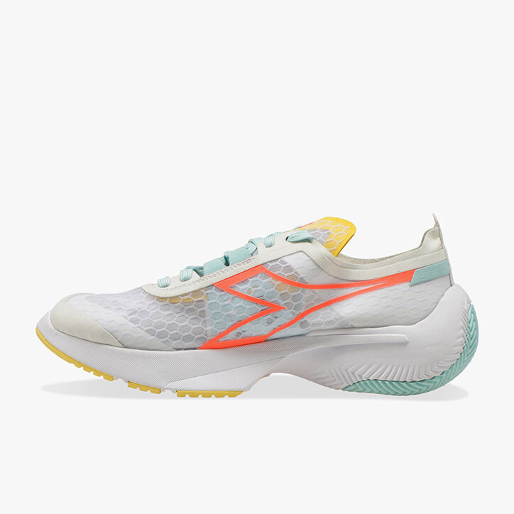 EQUIPE CORSA W, LILY WHITE/BLUE TINT/GOLDFINCH, large