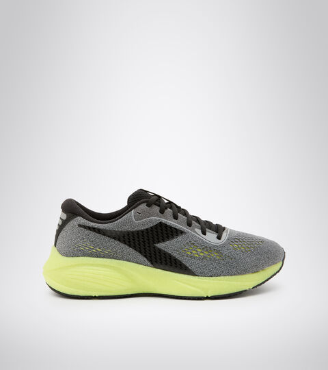 Footwear Sport UOMO FRECCIA ALLOY/BLACK/SULPHUR GREEN Diadora