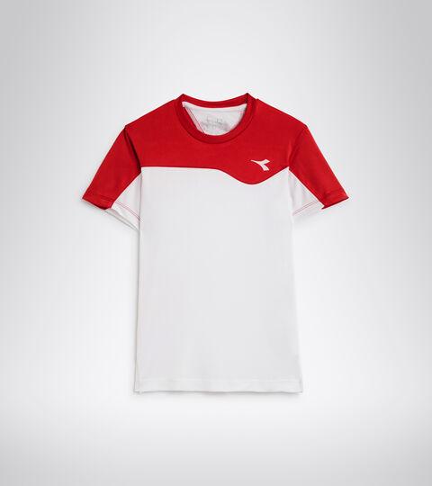 Camiseta de tenis - Junior J. T-SHIRT TEAM ROJO TOMATE - Diadora