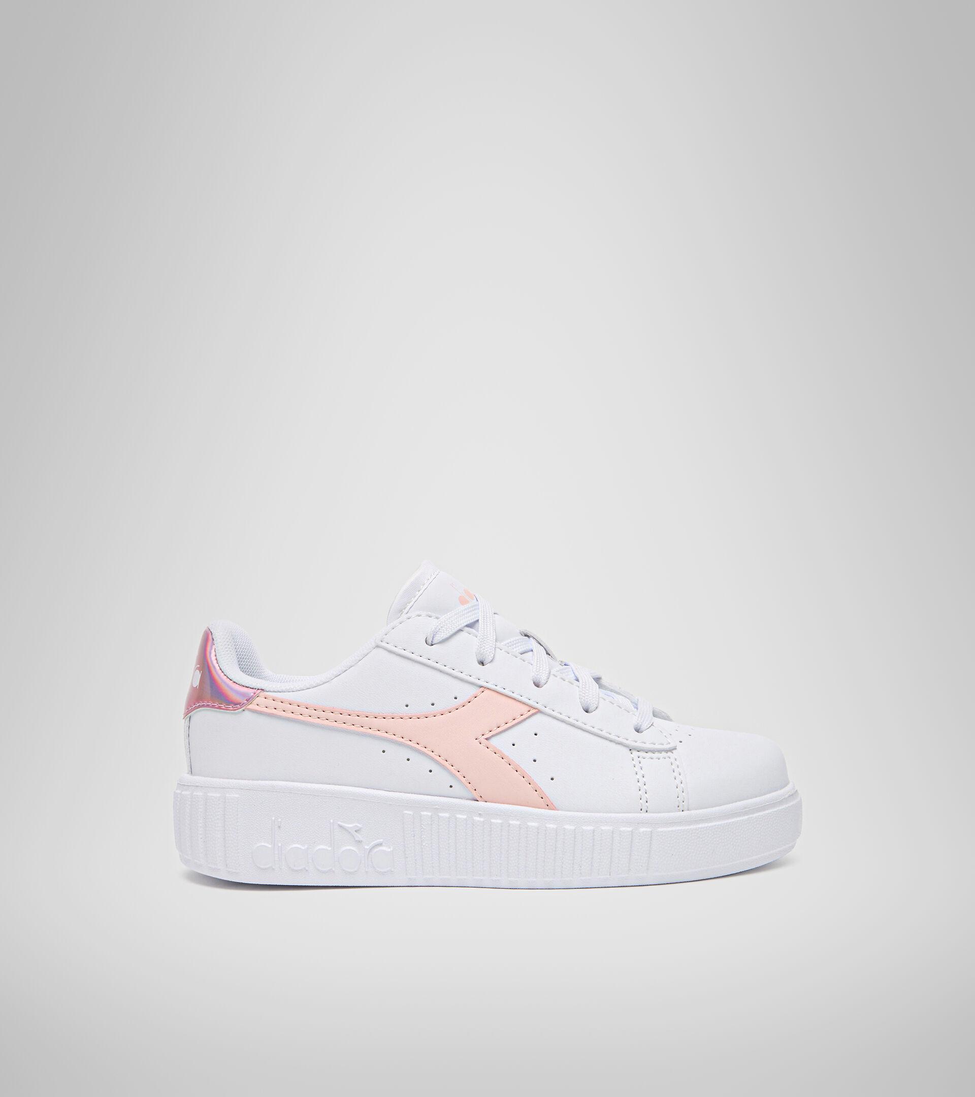 Footwear Sport BAMBINO GAME STEP PS WHITE/VEILED ROSE Diadora