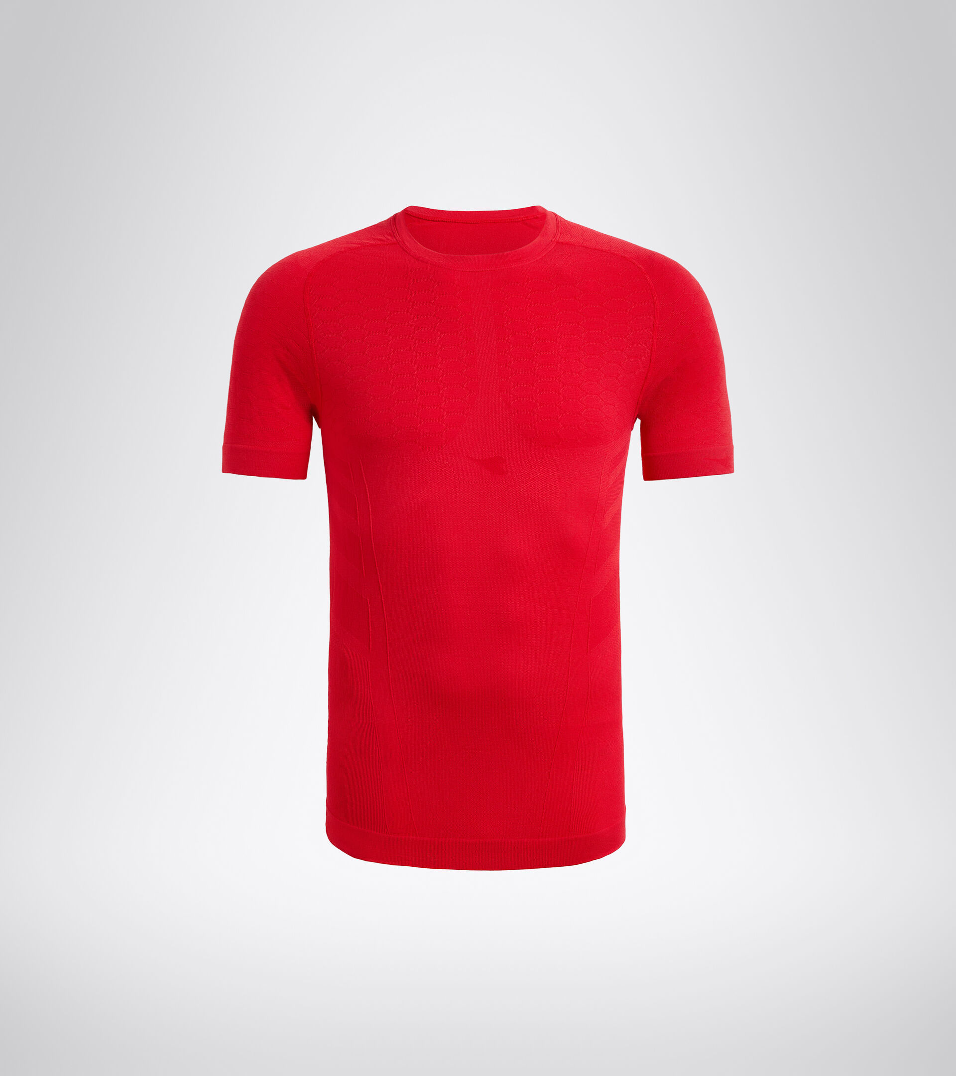 Trainings-T-Shirt - Herren SS T-SHIRT ACT LYZEE ROT - Diadora