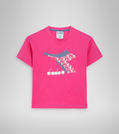 T-shirt - Bambini/e JU.SS T-SHIRT  CUBIC ROSA MAGENTA - Diadora