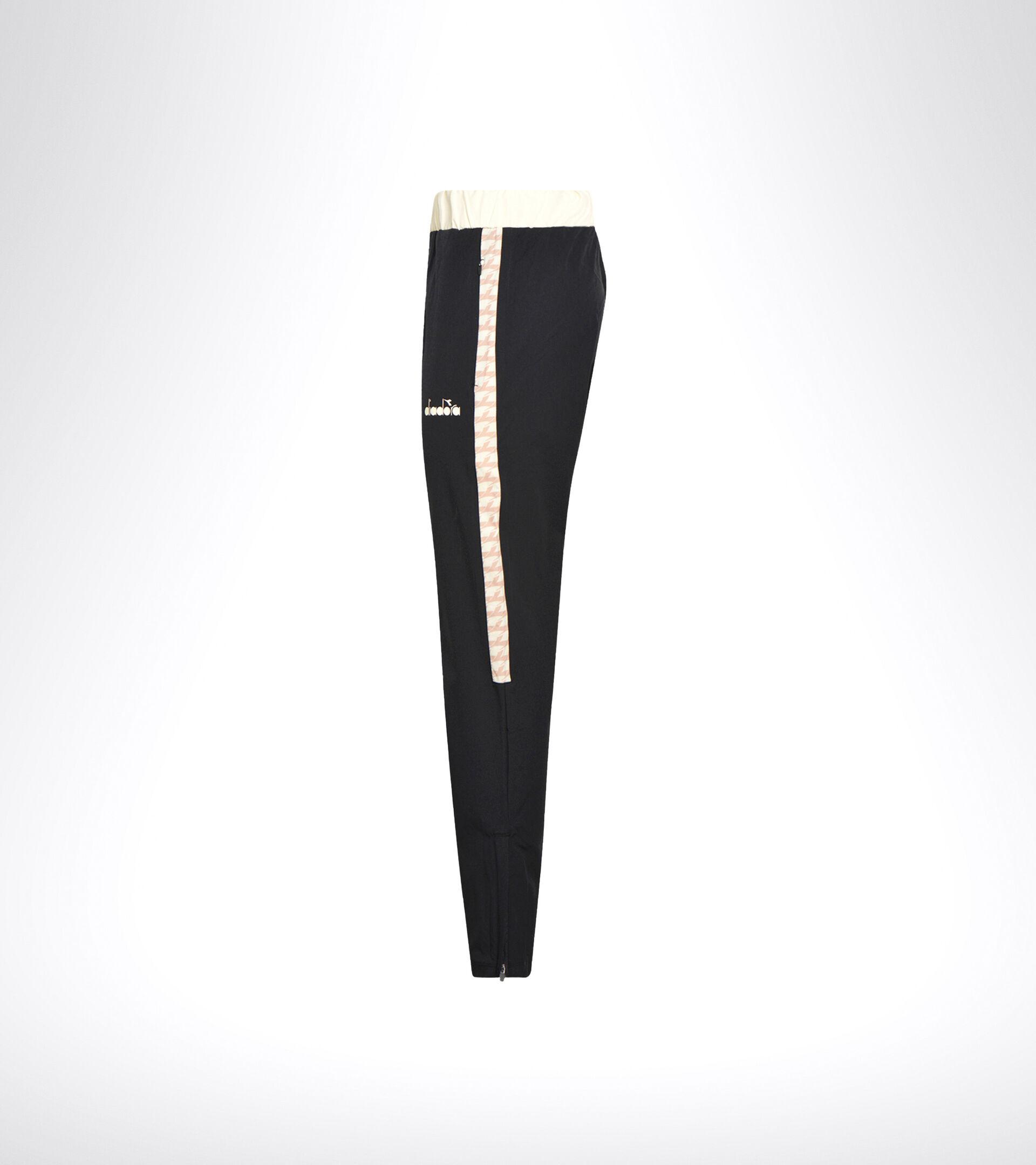 Pantalones de tenis - Mujer L. PANTS CHALLENGE NEGRO/ROSA CAOBA - Diadora