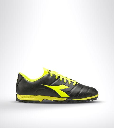 Footwear Sport UOMO PICHICHI 3 TF BLACK/FLUO YELLOW DIADORA Diadora