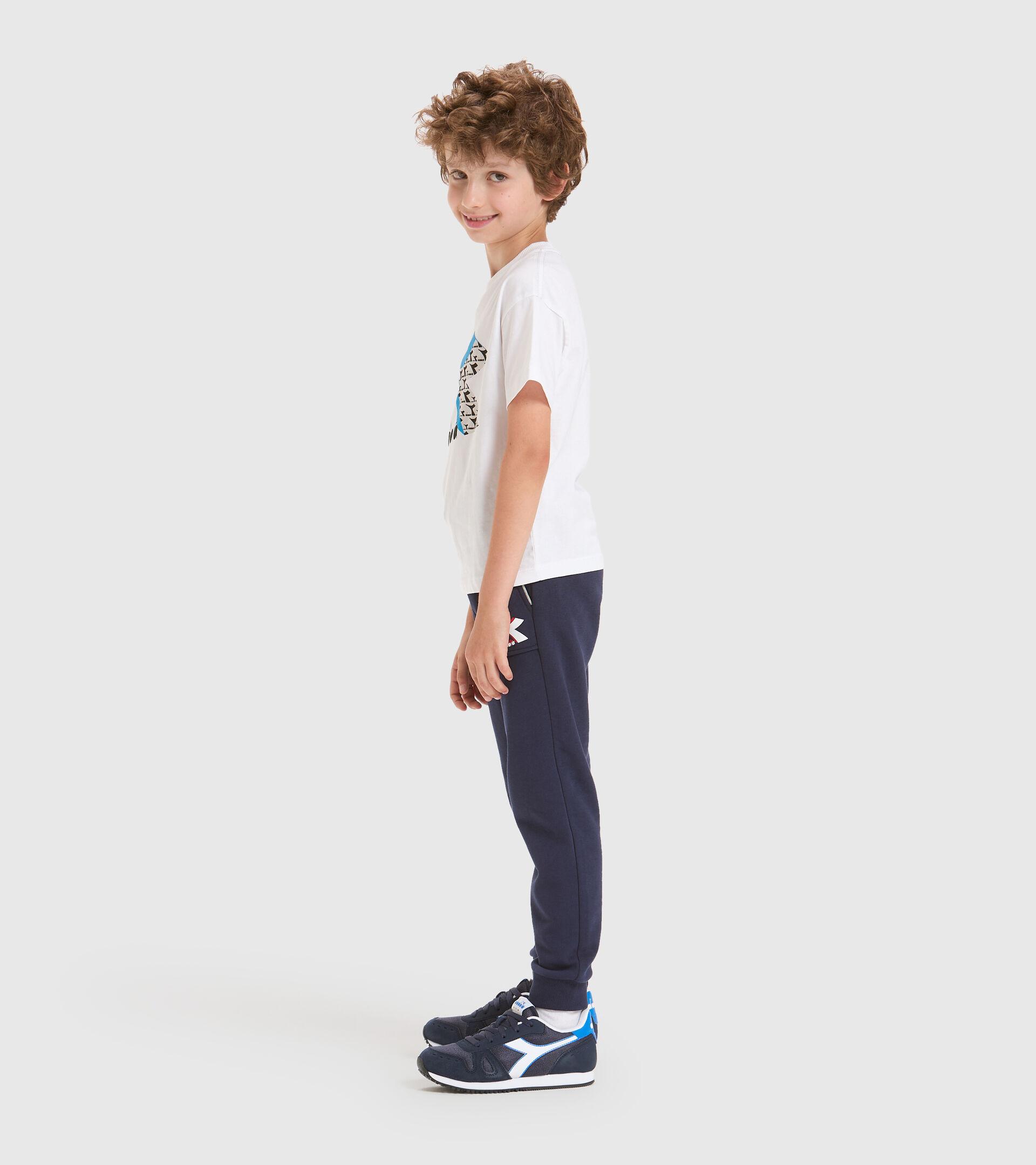 Sporthose - Kinder JU. CUFF PANTS CUBIC CABAN BLAU - Diadora