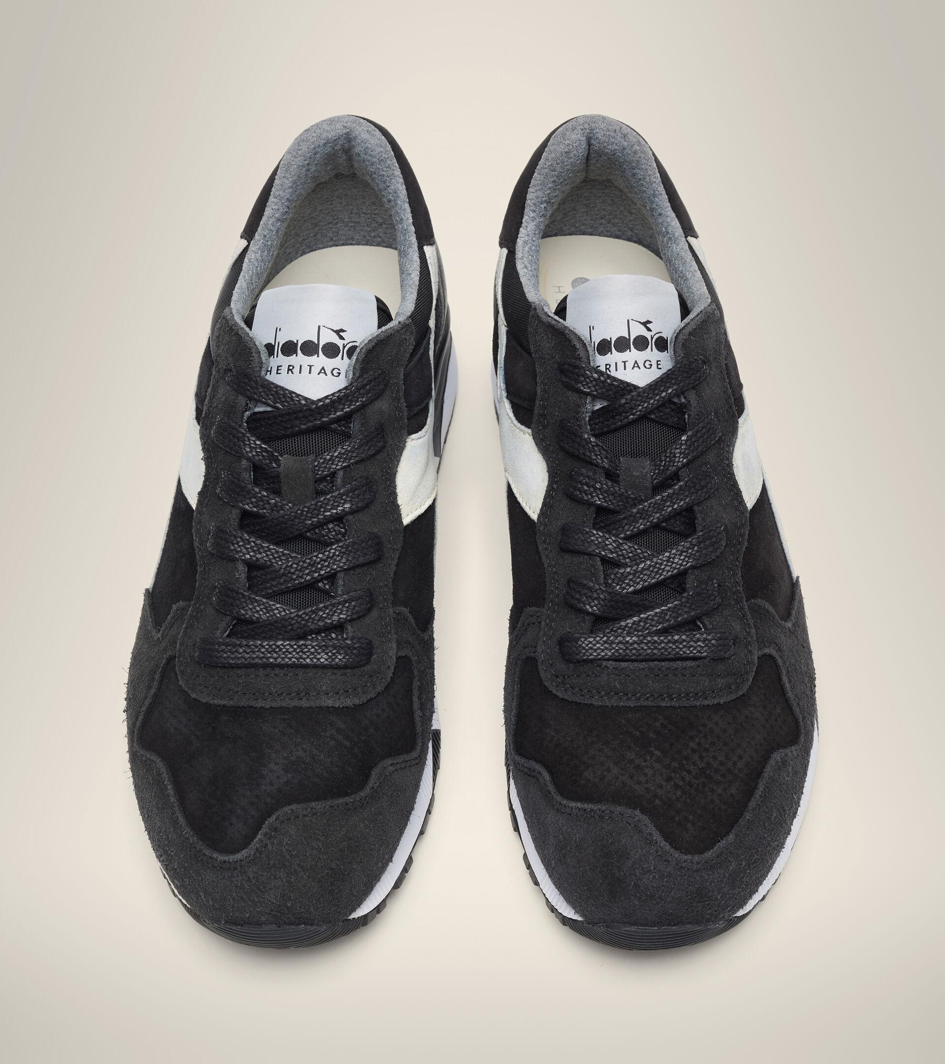 Footwear Heritage UOMO TRIDENT 90 LEATHER NERO Diadora