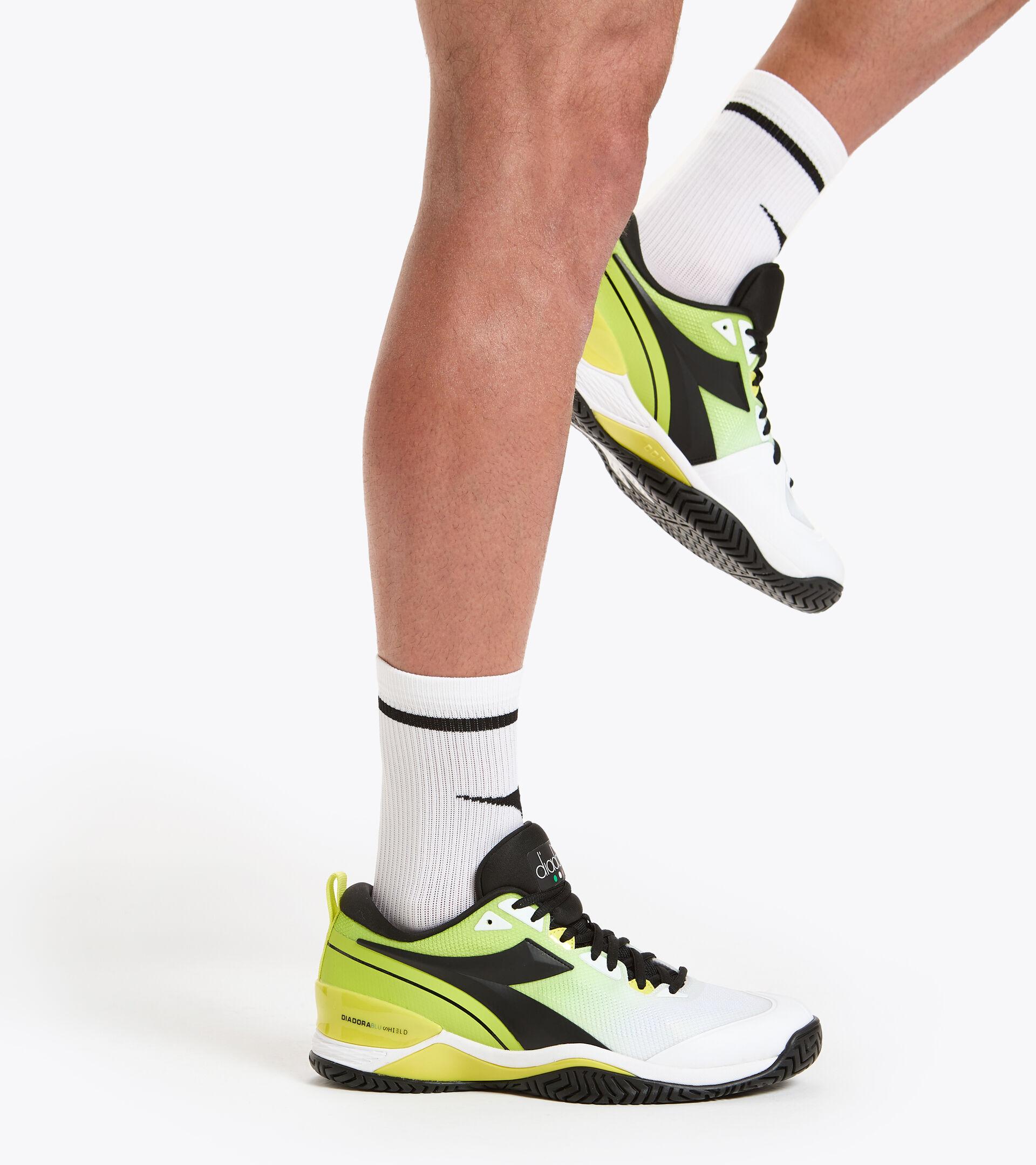Calcetines cortos - Hombre SOCKS BLANCO VIVO/NEGRO - Diadora
