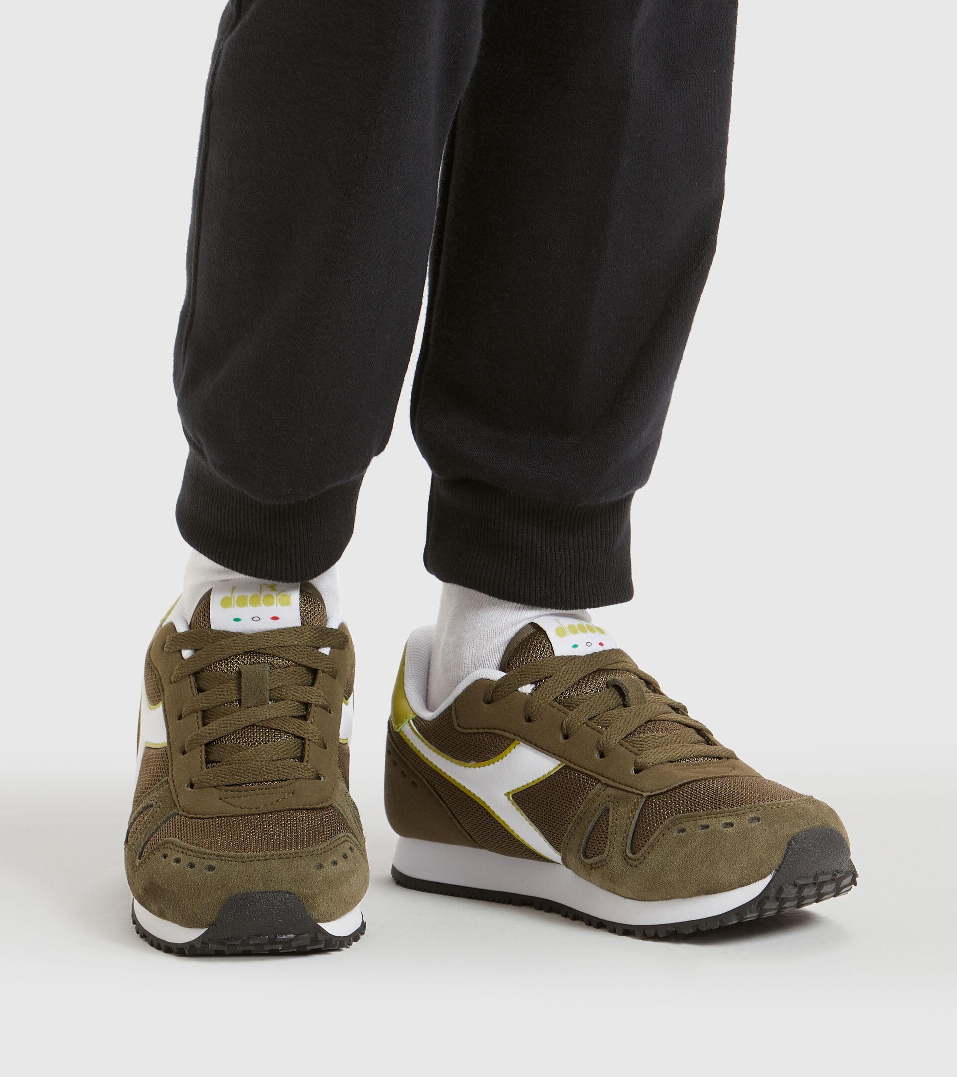 Footwear Sport BAMBINO SIMPLE RUN GS OLIVE GREEN Diadora