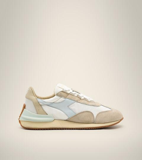 Footwear Heritage DONNA EQUIPE MAD ITALIA NUBUCK SW WN BIANCO LATTE Diadora