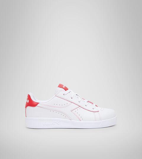 Chaussures de sport - Jeunes 8-16 ans GAME P SMASH GS BIANCO/TOMATO RED - Diadora