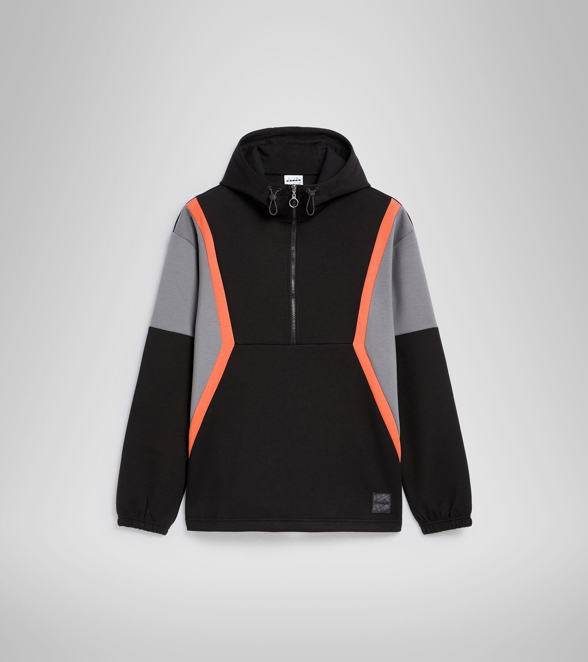Apparel Sportswear UOMO HOODIE URBANITY BLACK Diadora