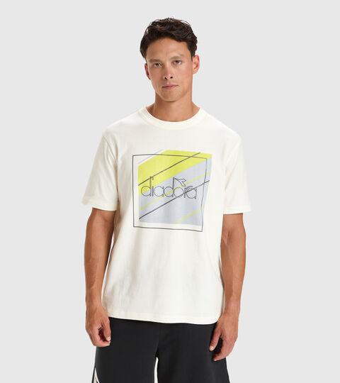 Apparel Sportswear UOMO T-SHIRT SS 5PALLLE URBANITY BIANCO Diadora