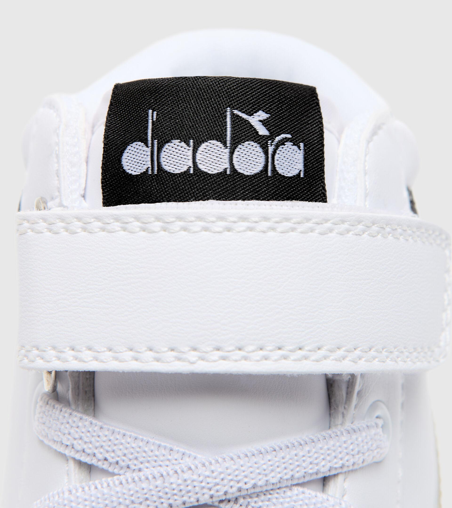 Footwear Sport BAMBINO GAME P HIGH GIRL PS WHITE/BLACK/GOLD Diadora