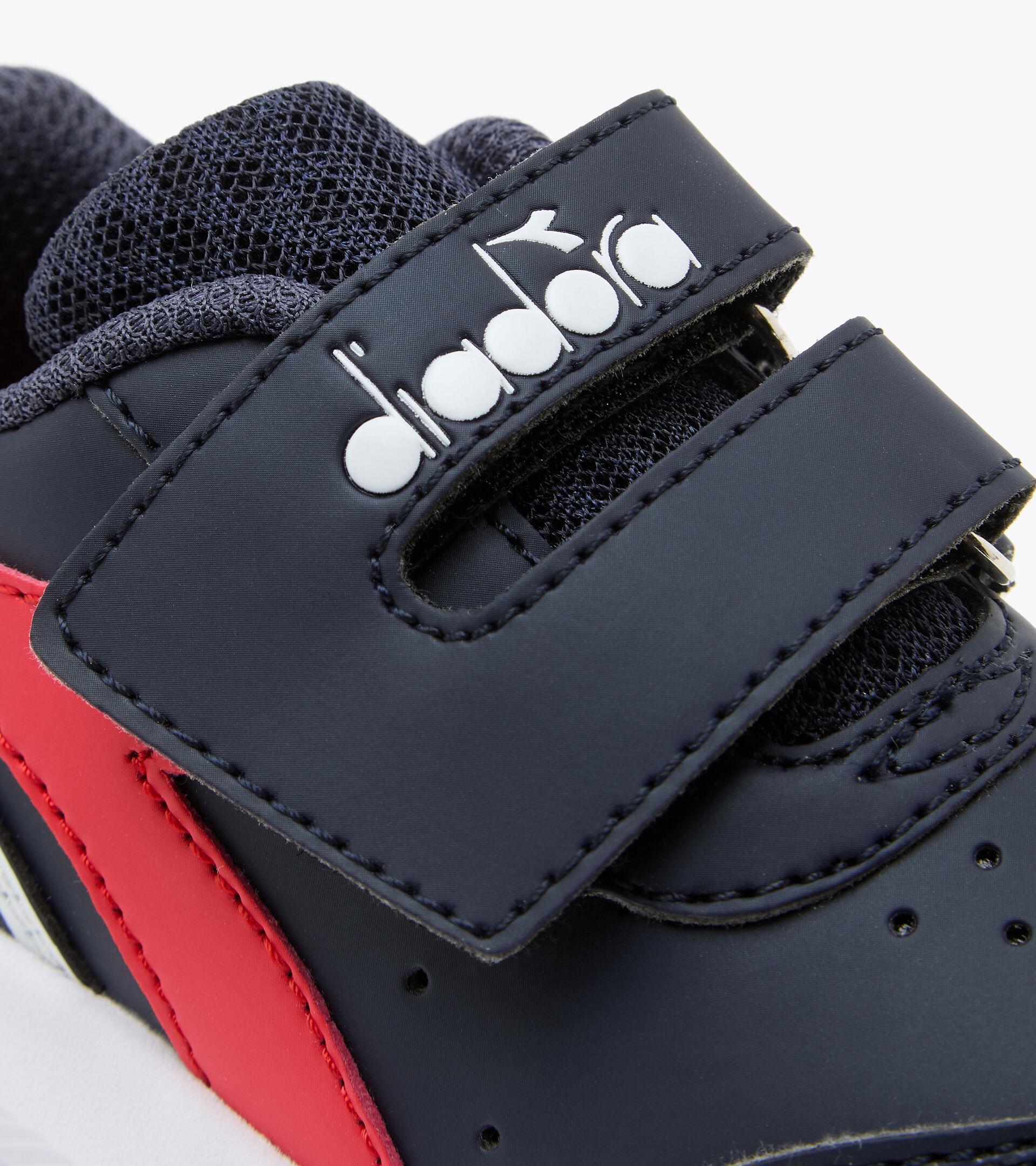 Footwear Sport BAMBINO FALCON SL I BLUE CORSAIR /HIGH RISK RED Diadora