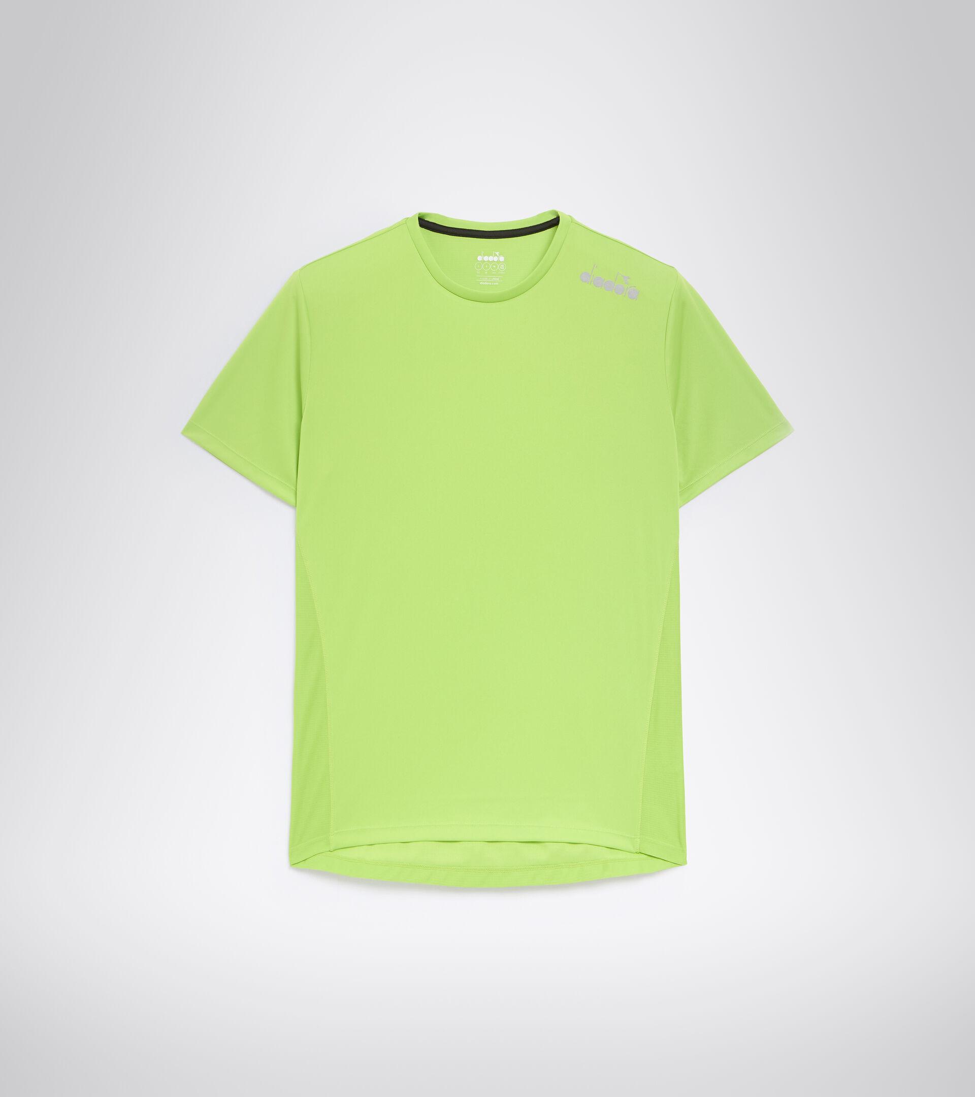 Lauf-T-Shirt - Herren SS CORE TEE LINDE GRUN - Diadora