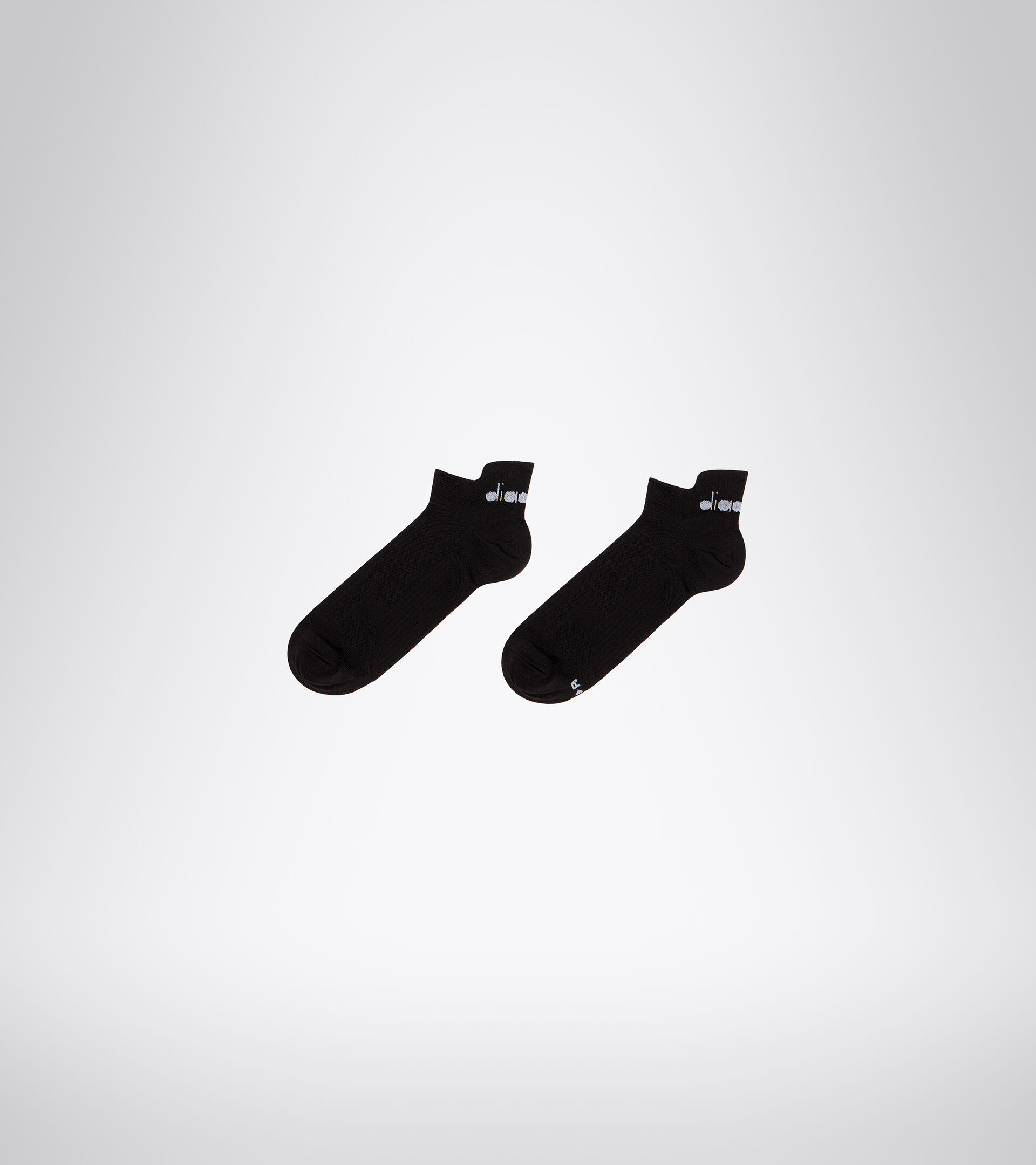 Calcetines de Running - Unisex LIGHTWEIGHT QUARTER SOCKS NEGRO - Diadora
