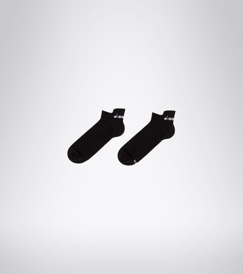 Chaussettes de Running - Unisexe LIGHTWEIGHT QUARTER SOCKS NOIR - Diadora