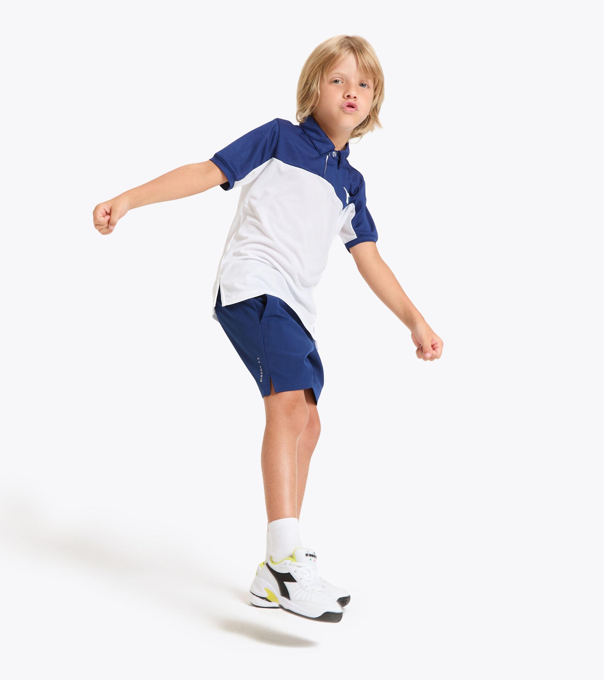 Polo da tennis - Bambino J. POLO COURT BLU ESTATE - Diadora