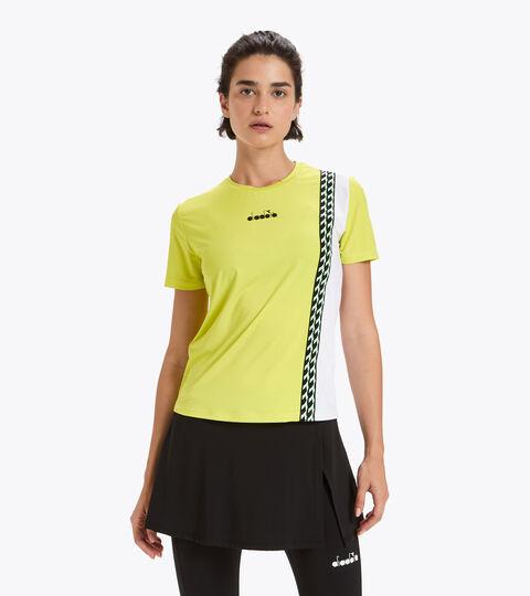 Camiseta de tenis - Mujer L. SS T-SHIRT CHALLENGE MANANTIALES DE SULFURO - Diadora