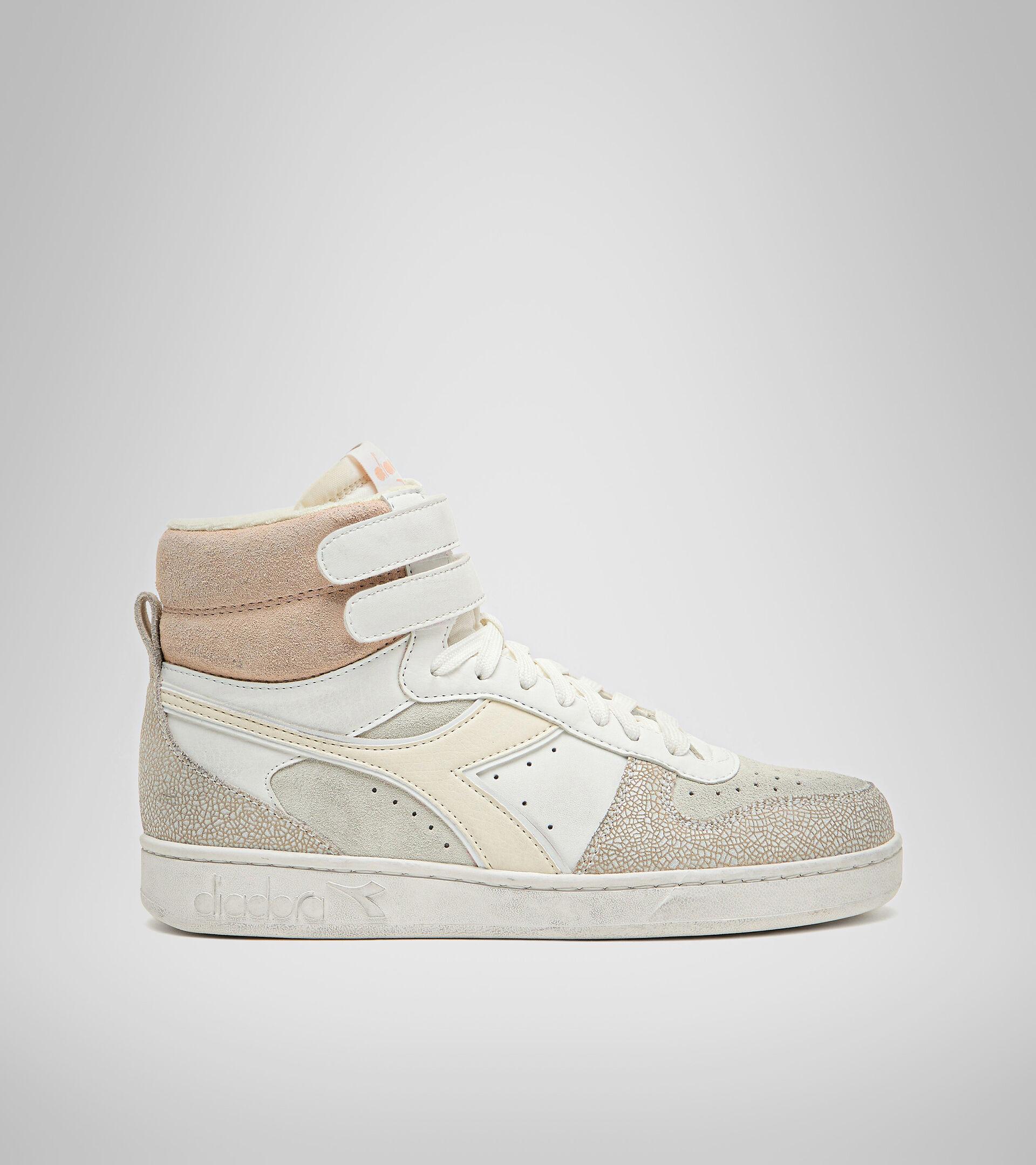 Footwear Sportswear DONNA MAGIC BASKET MID ICONA WN BLANCO MURMURAR Diadora