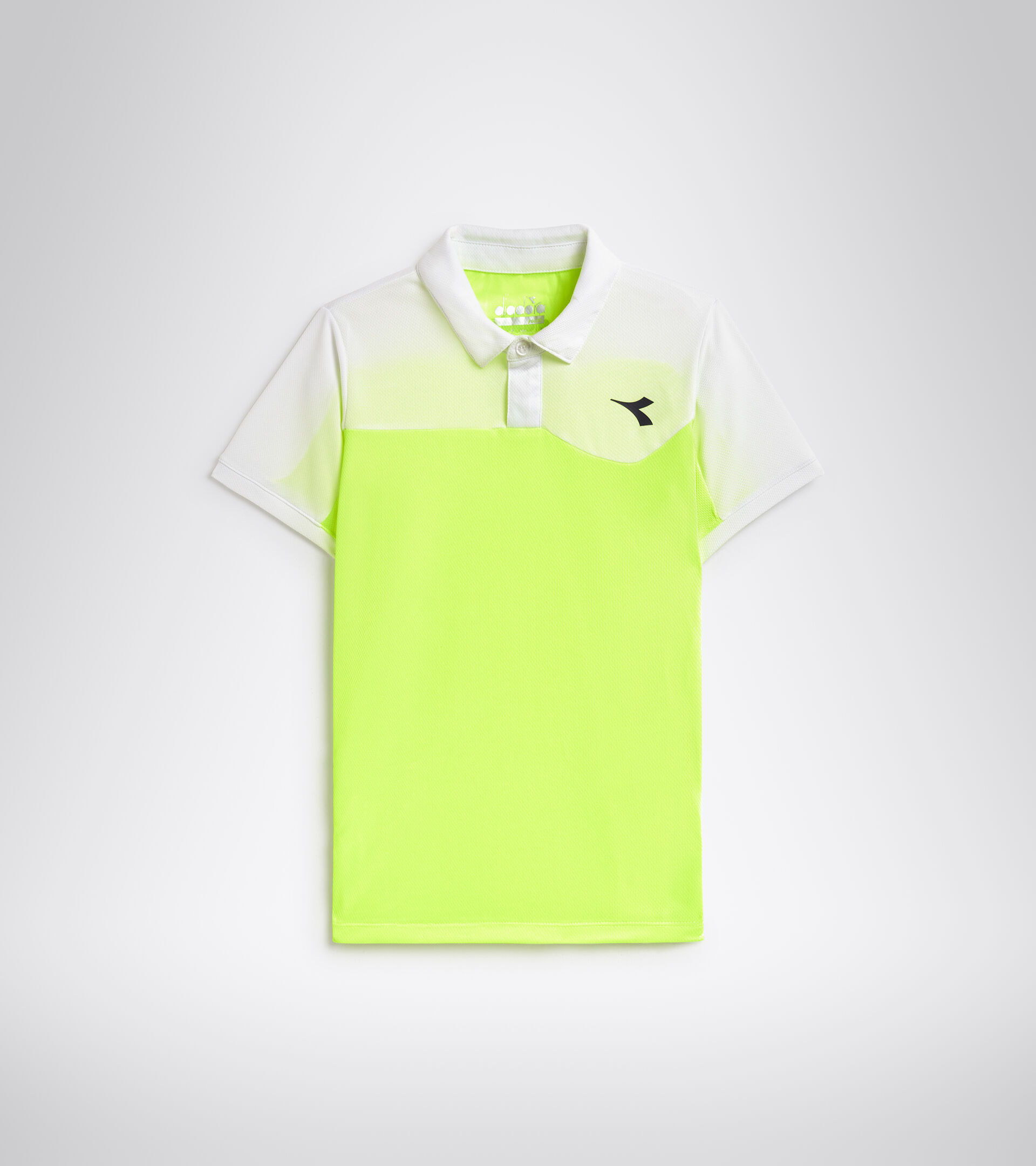 Tennis-Polohemd - Junior J. POLO COURT FLUO GELB DD - Diadora