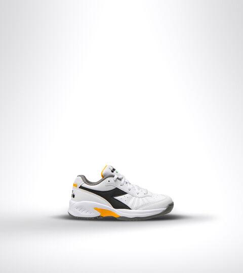 Footwear Sport BAMBINO S. CHALLENGE 3 SL JR BLACO/NEGRO/AZAFRAN Diadora