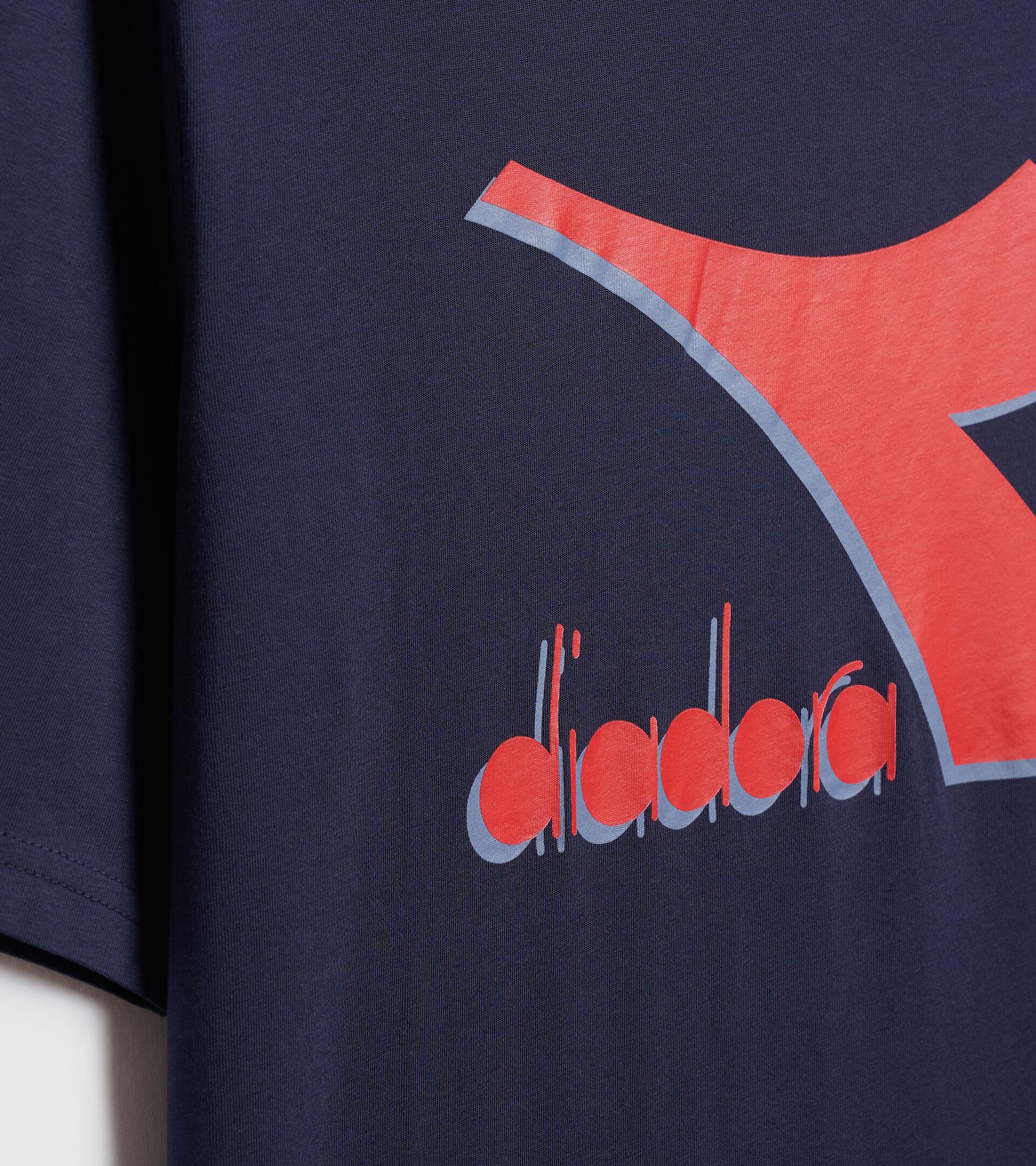 Camiseta - Hombre T-SHIRT SS SHIELD AZUL CHAQUETON - Diadora